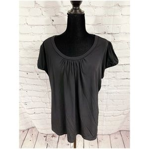 Worthington black blouse size 1X
